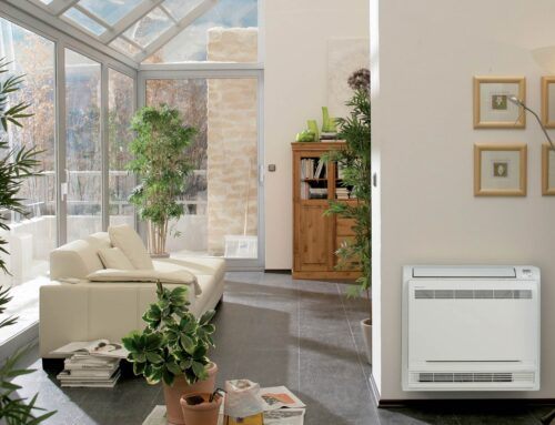 Combatting a Cold & Damp Home with a Floor Console Heat Pump